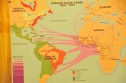 Map of the slave routes