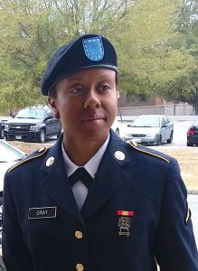 PV2 Dominique M. Gray
