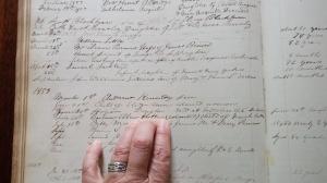 Barbara Ellen Hatter Died 1858