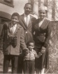 Wilma & Gaithe Pegg with Kids