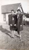 Wilma and Virginia Omaha NE 1943