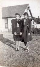 Wilma and Virginia Omaha NE 1943