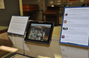 Display of our work
