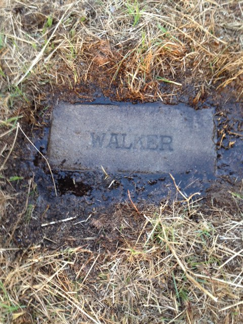 William P. Walker Grave Stone